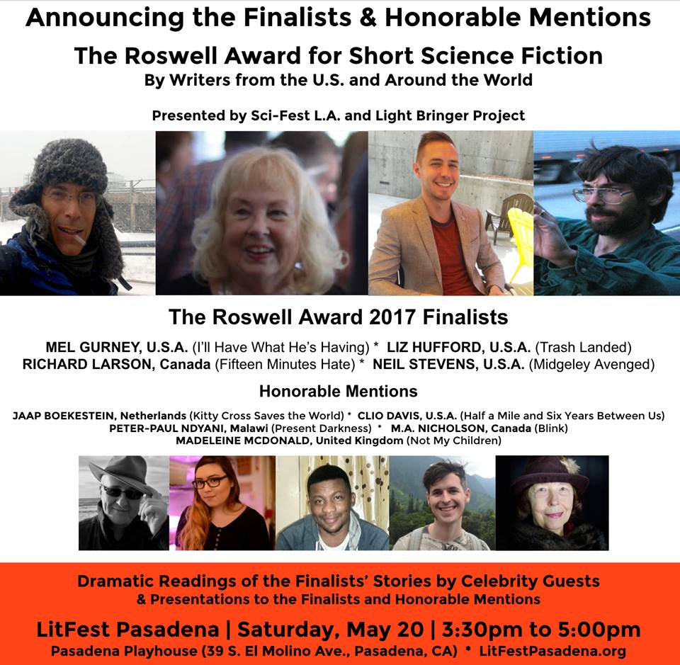 Roswell Award for Short Science Fiction