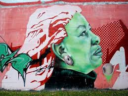 Mural art of Toni Morrison
