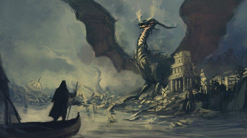 Tsomer Dragons of Earthsea