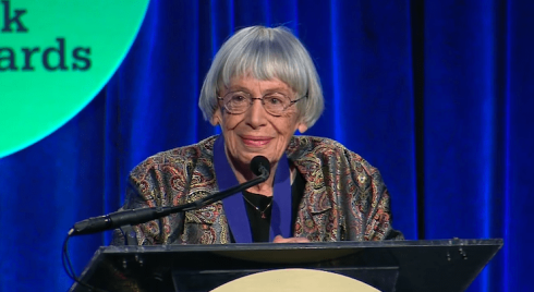 LeGuin-NatlBookAwards