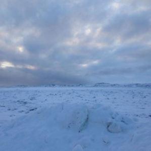 Landscape picture of Arctic tundra
