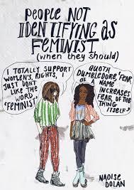 Naoise Dolan Drawing Feminist