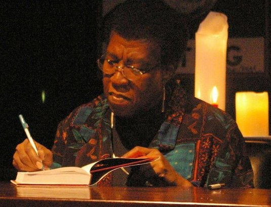 Octavia Butler book signing
