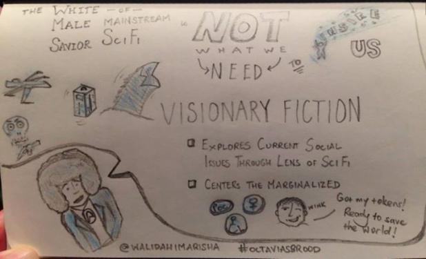 Walidah Imarisha visionary fiction