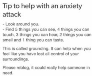 tips for anxiety attack