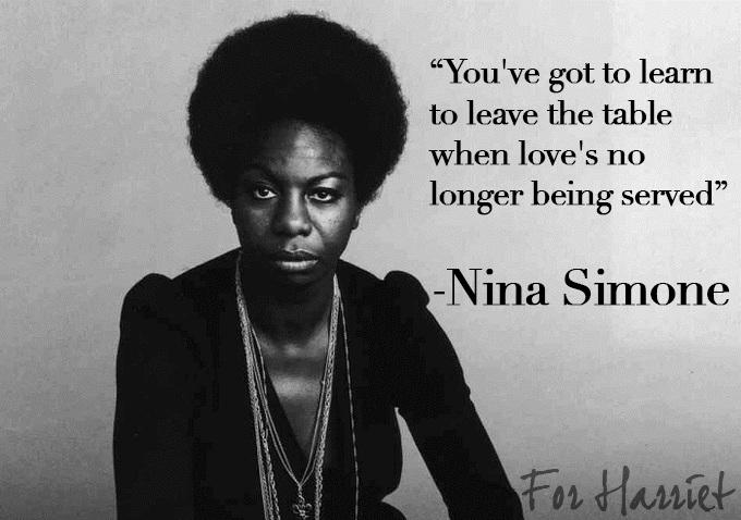 Advice on Love from Nina Simone