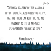 Noam Chomsky Optimism