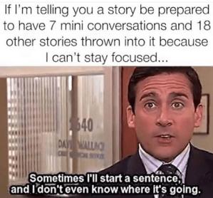 The Office focus sentences