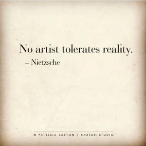 Nietzsche reality art