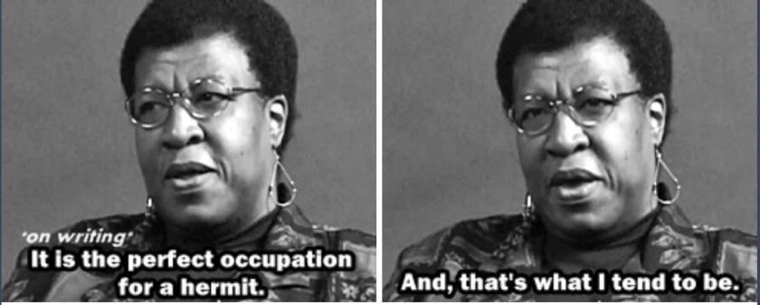 Octavia Butler on writing