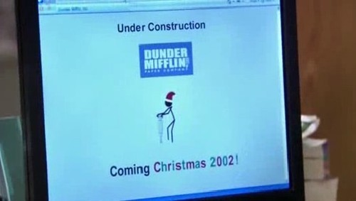 Dunder Mifflin old website