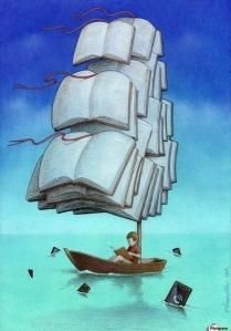 Pawel Kuczynski Sailing With Sharks