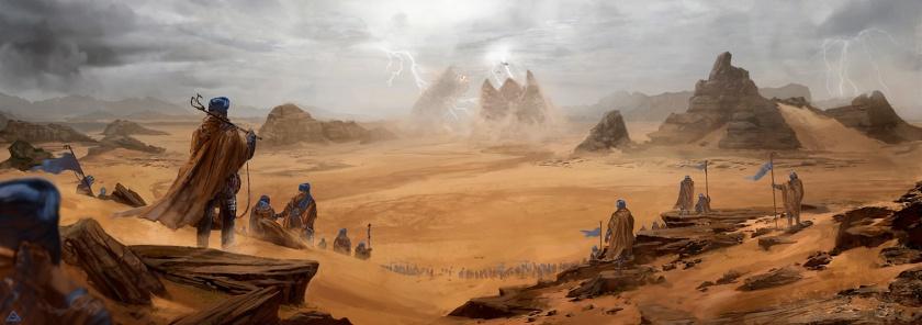Gary Jamroz Dune Illustration